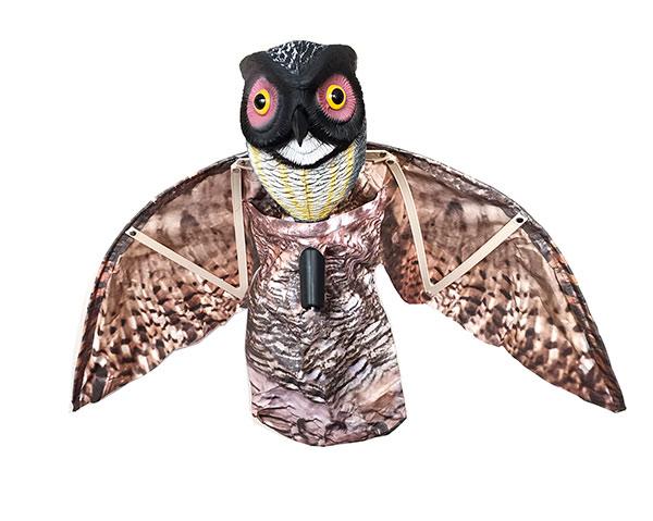 Plašič ptáků Sova 7080, maketa sovy s rozpětím 100 cm