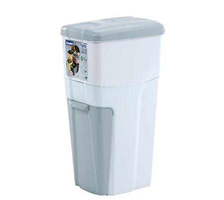 Koš na tříděný odpad do malé kuchyně, pokoje 7255, 18 + 16 + 4,5 L