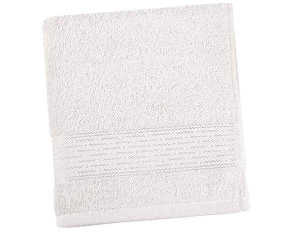 Osuška KAMILKA proužek 70 x 140 cm - bílá