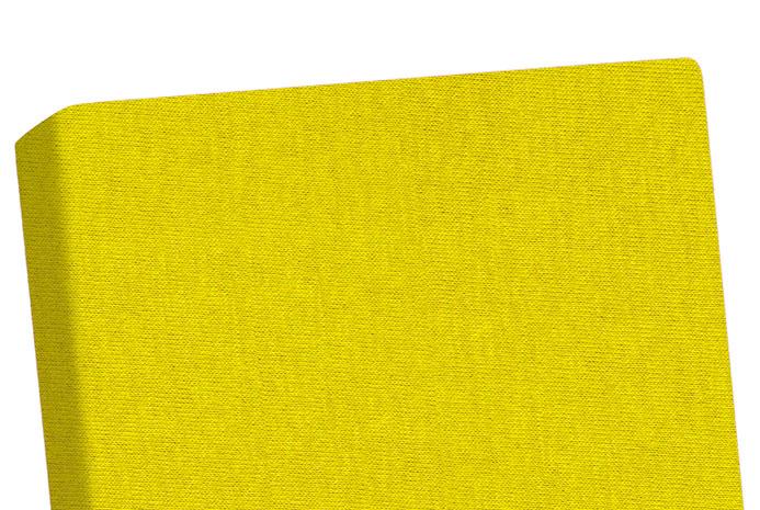 Prostěradlo do postýlky Jersey 60 x 120 cm, žlutá