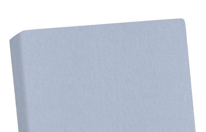 Prostěradlo do postýlky Jersey 60 x 120 cm, šedá