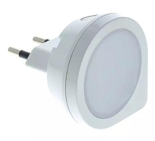 Noční světlo do zásuvky s LED 0,4 W / 230 V, Fortel