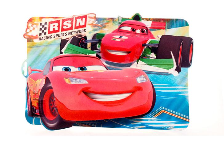 Dětské tvarované prostírání 43x29cm Cars, BANQUET