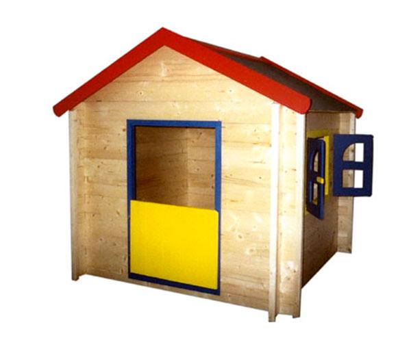 Dětský dřevěný zahradní domeček Denisse 140x140x150 cm, Fortel