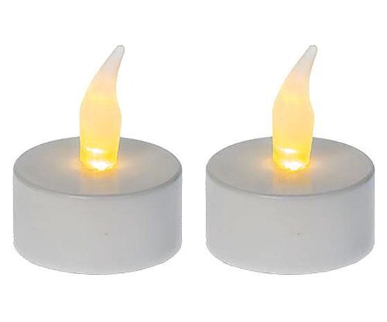 LED čajová svíčka 6550, 3,7 cm, sada 2 ks
