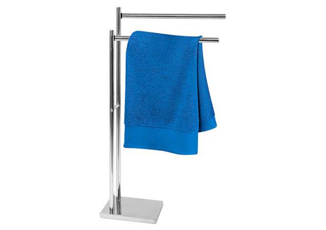 Stojan na ručníky Inox, 43 x 18 x 83 cm, nerez