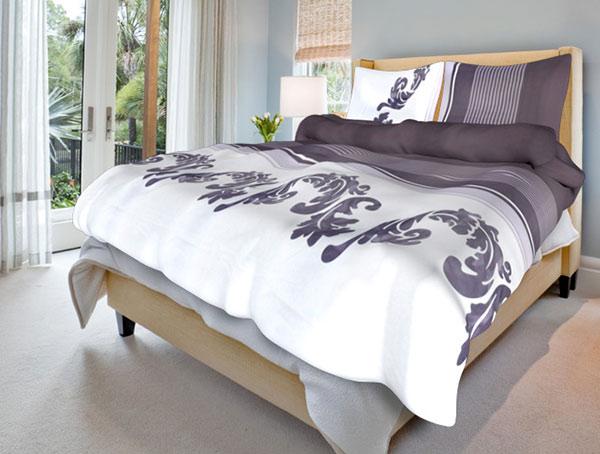 Bavlněné ložní povlečení Linda - bavlna 1 + 1, 70 x 90 cm, 140 x 200 cm, Smolka